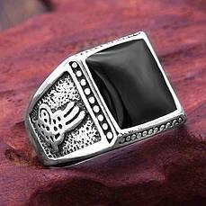 Перстень - PEB-16 Печатка с камнем - 5