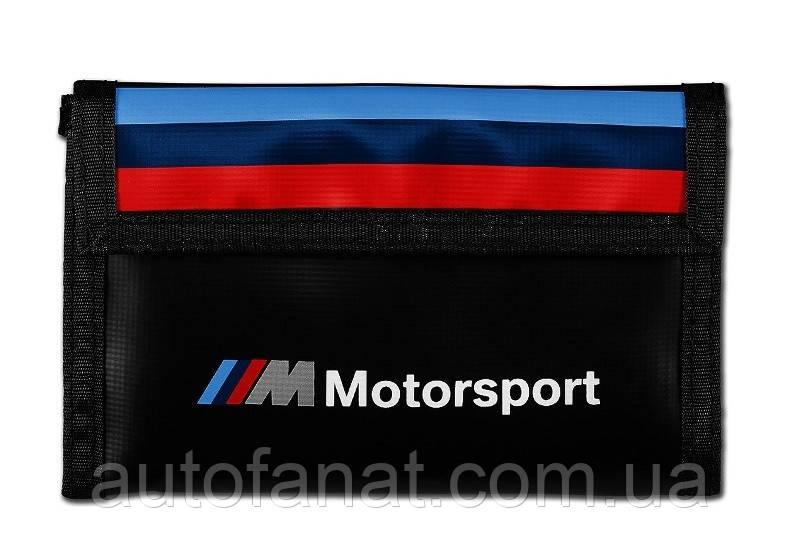 Оригинальный кошелек BMW M Motorsport Wallet, Black (80212461148)
