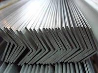 Уголок алюминевый разносторонний 20х8х2 мм 6м АД31Т5 с покрытием и без покрытия