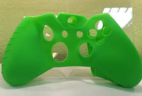 Силиконовый чехол Game Teh X для Xbox One  Зеленый