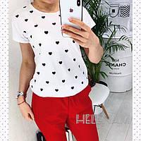 Женская модная футболка  ОЕ078, фото 1