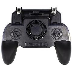 ✥Игровой геймпад триггер Lesko SR1 с вентилятором для PUBG профессиональный 2000 мАч для телефона