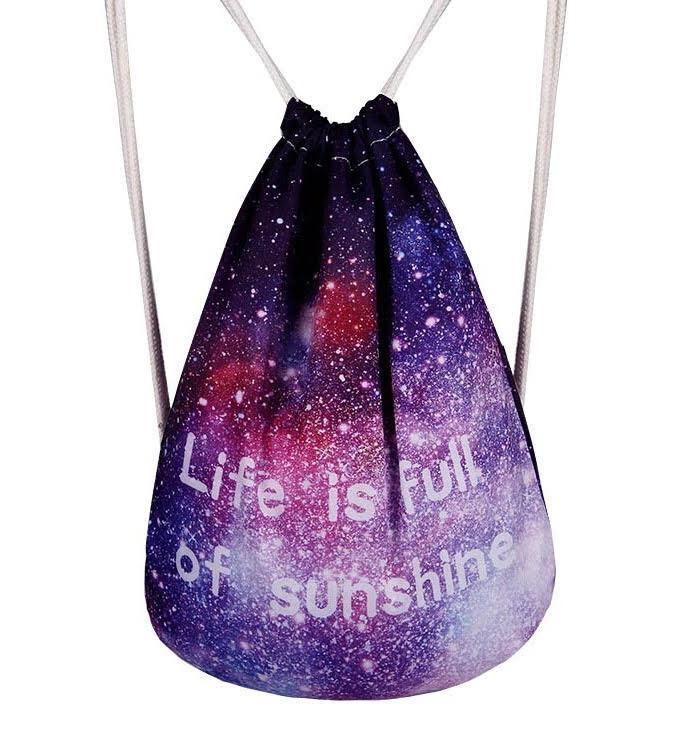Рюкзак мешок космос  Life is full of sunshine