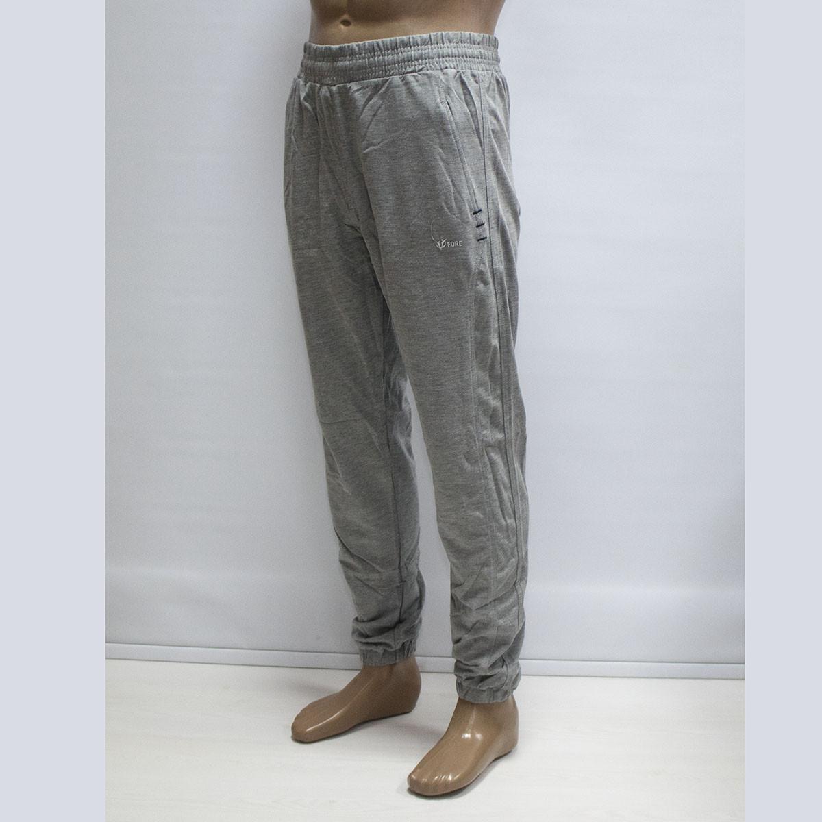 Спортивные штаны под манжет мужские материал Лакоста Турция тм. FORE 9389N