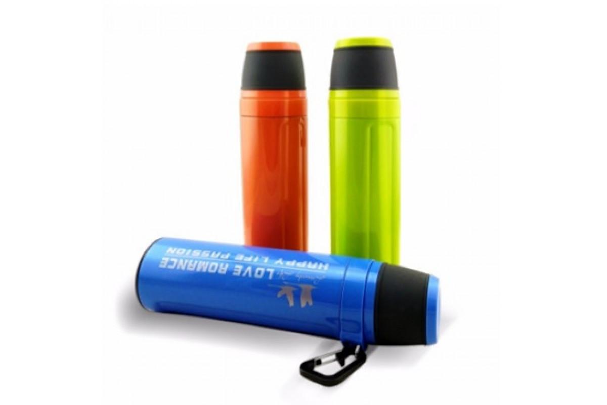 Спортивная бутылка для воды термос фляга Passion V04 для путешествия