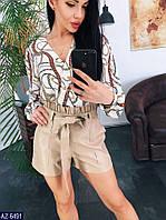 Блуза AZ-6491 в разных цветах. Размеры 42;44;46, фото 1