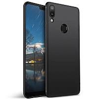 Черный силиконовый чехол Samsung Galaxy A30 (2019)