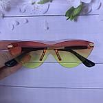 Стильные солнцезащитные очки без оправы, фото 4