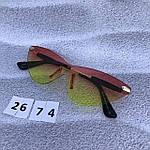 Стильные солнцезащитные очки без оправы, фото 7