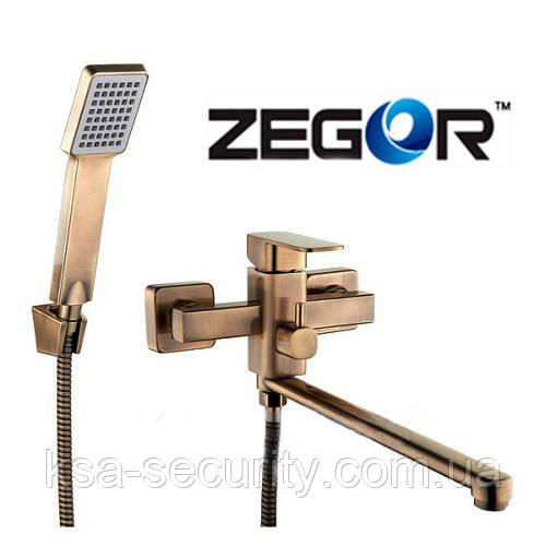 Смеситель для ванны ZEGOR LEB7-A123T (Зегор)