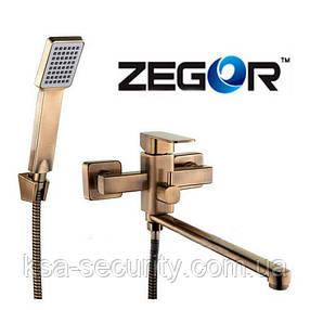 Смеситель для ванны ZEGOR LEB7-A123T (Зегор), фото 2