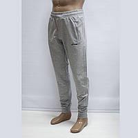 Мужские турецкие светло-серые спортивные штаны под манжет тм. FORE 9574N, фото 1