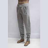 Мужские турецкие светло-серые спортивные штаны под манжет тм. FORE 9419N, фото 1