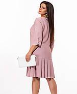 / Размер 48,50,52,54 / Женское неотразимое платье 29214 / цвет пудра , фото 2
