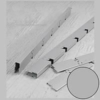 Профиль KRAFT Грильято GLK-15 торцевой 40*600 мм (ячейка 100*100) Ral 9006