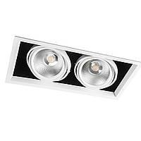 Врезной поворотный LED светильник Feron AL2122*COB 30W