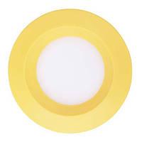 Врезной LED светильник 3w Feron AL525 (желтый), фото 1