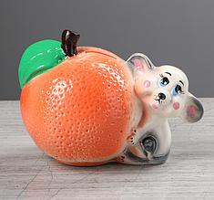 """Копилка """"Мышь с апельсином"""""""