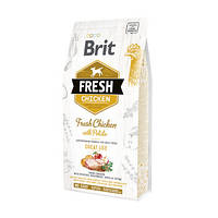 Cухой корм для собак Brit Fresh Chicken Potato Adult свежая курица и картофель 12кг (170989)
