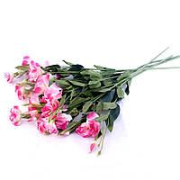 Эустома 80 см ткань 33 33 искусственные цветы