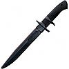 Нож тренировочный Cold Steel Black Bear Classic (длина: 333мм, лезвие: 206мм, черное), черный