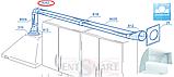 Вертикальное колено 90 для плоских каналов ПЛАСТИВЕНТ (ВЕНТС), фото 4