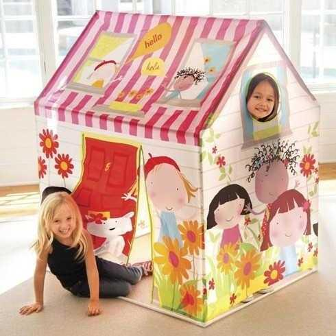 Дитячі намети, будиночки