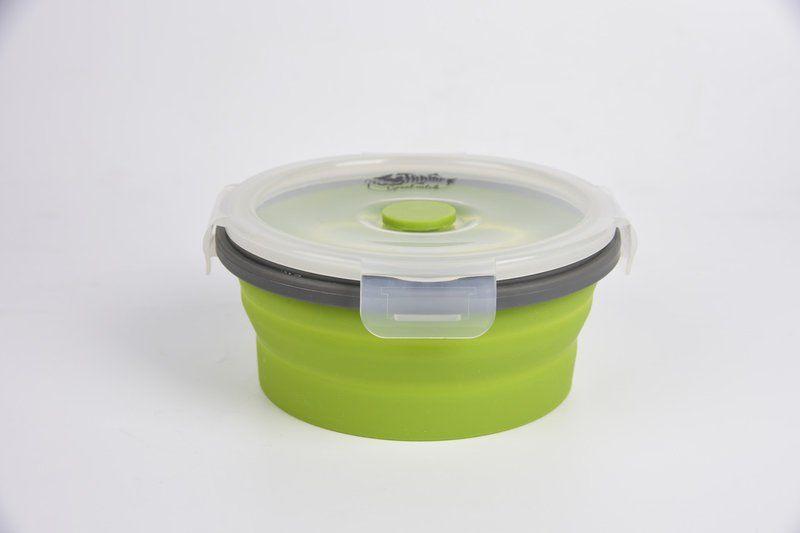 Контейнер складной с крышкой-защелкой Tramp (800ml) Olive (TRC-087-olive)