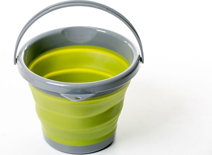 Ведро складное силиконовое Tramp 5L Olive (TRC-092-olive)
