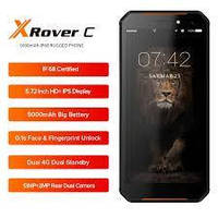 Защищенный смартфон Leagoo XRover C 2/16gb ip68 Black MediaTek MT6739V/WW 5000 мАч, фото 4