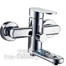 Смеситель для ванны ZEGOR LOB3-A128 (Зегор) (TROYA), фото 2