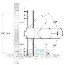 Смеситель для ванны ZEGOR LOB3-A128 (Зегор) (TROYA), фото 3