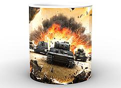Кружка World of Tanks Мир танков постерWT.02.003