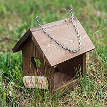 """Кормушка для птиц деревянная """"Сердце"""" 23 см D9017"""