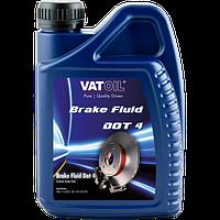 Тормозная жидкость синтетическая VatOil DOT 4 (1л)