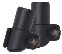 Крепления Tramp Fast Lock TRA-116 для треккинговых палок (16 mm), пара