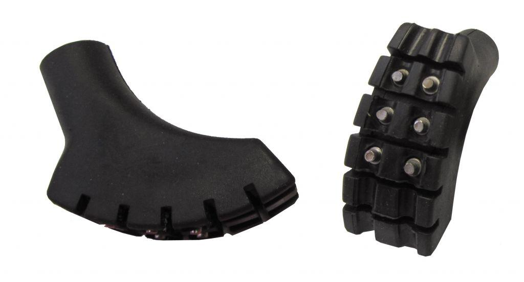 Насадка на концевик палок для скандинавской ходьбы с шипами Tramp TRA-203 (пара)