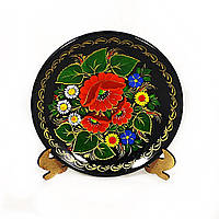 Цветочная радуга М-20 Тарелка Д150 деревянная декоративная тарелка петриковка 15 см