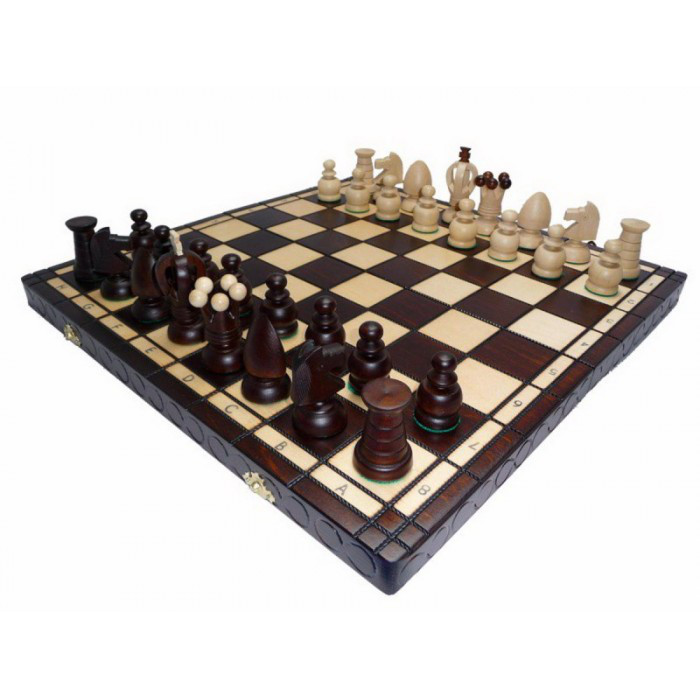 Шахматы КОРОЛЕВСКИЕ большие 440*440 мм СН 111