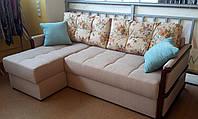 """Кутовий диван з отоманкою """"Тіна"""""""
