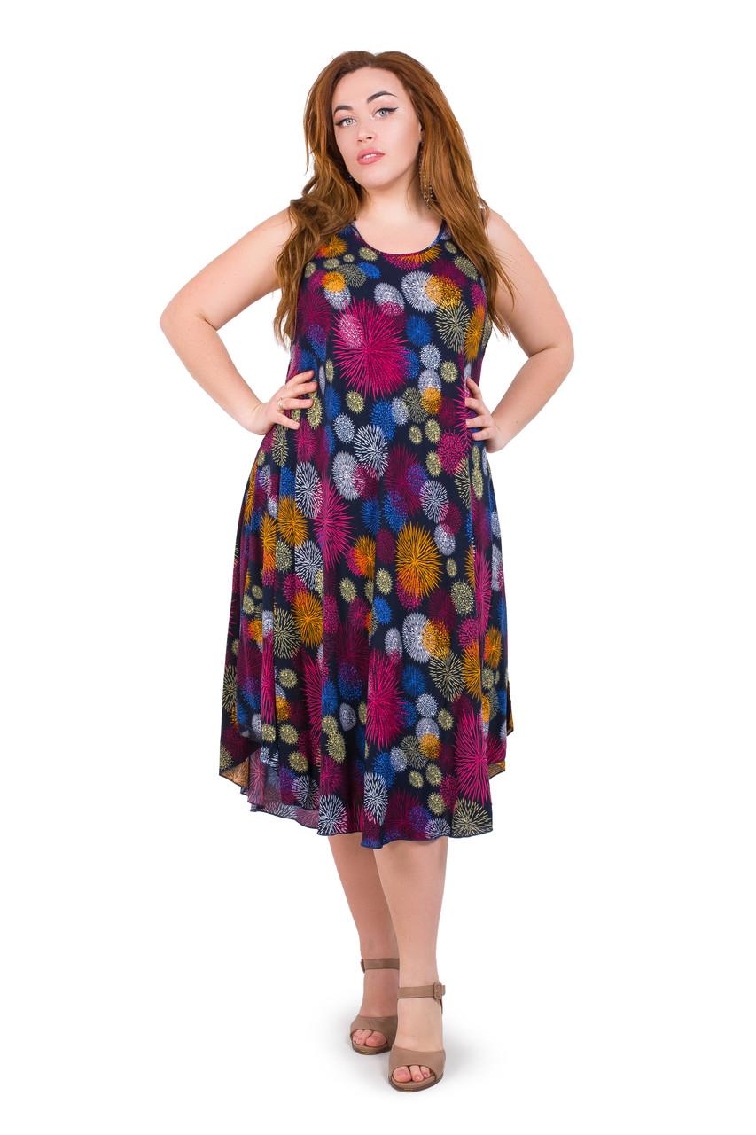 Женское летнее платье 1231-27