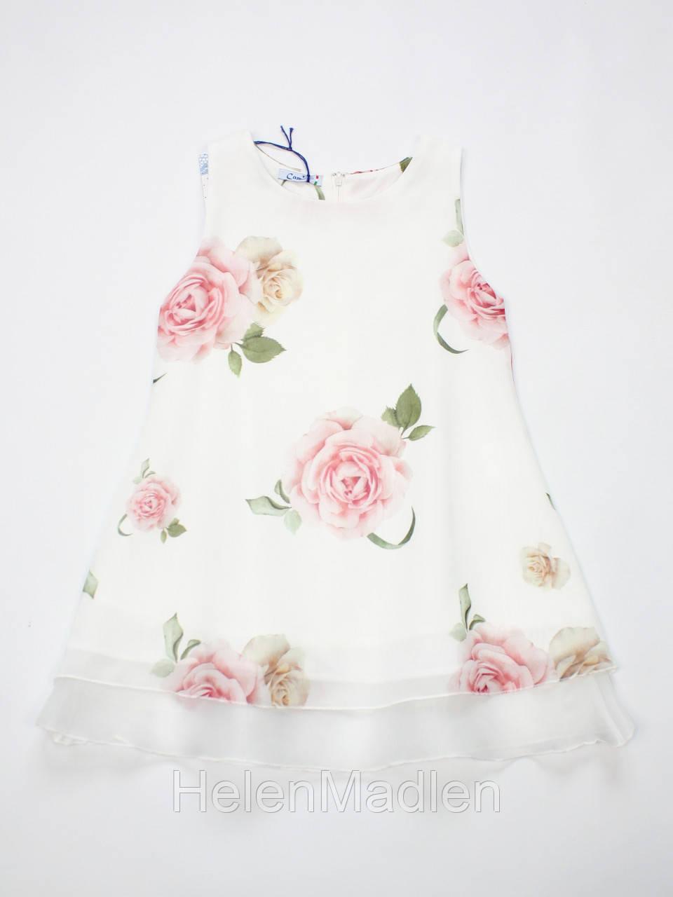 Платье Camilla детское белое Италия 13025