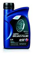 Тормозная жидкость синтетическая ELF MOTO BRAKE FLUID DOT 5.1 (0,5л) Brake Fluid