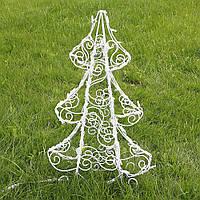 Ёлка новогодняя (полуобъемная) 90 см, гирлянда LED 100 лампочек 2211502530010, фото 1