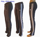 Спортивні штани жіночі (еластан) чорні, фото 2