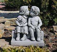 Садовая фигура скульптура для сада Целующиеся мальчик и девочка 34*24.7*39.5cm SS0848-16 статуя
