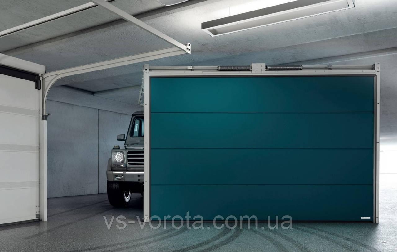 Ворота гаражные секционные GANT Чехия размер 3300х2000 мм