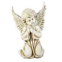 Статуэтка Ангел молящийся 30 см СП501-3 беж фигура ангела статуя