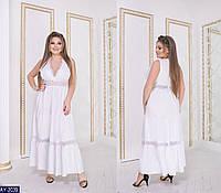Стильное платье      (размеры 48-58)  0175-95, фото 1