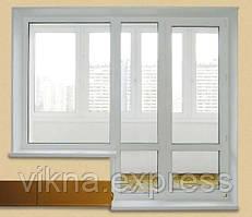 тёплый балконный блок